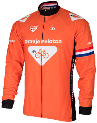 Oranje peloton Winterjack