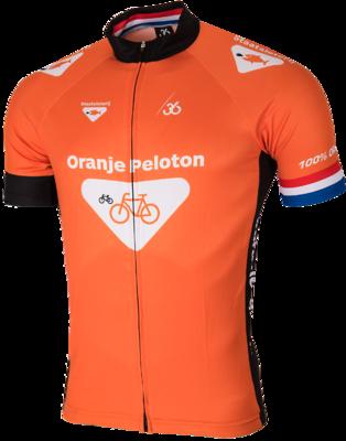 Oranje peloton Wielershirt