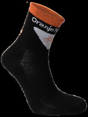 Oranje peloton sock