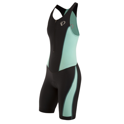 Select Pursuit tri suit Zwart/Groen Dames