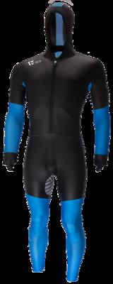 Speedskating Suit Noir/Bleu