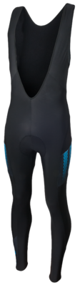 Uscio Fietsbroek Zwart/Blauw