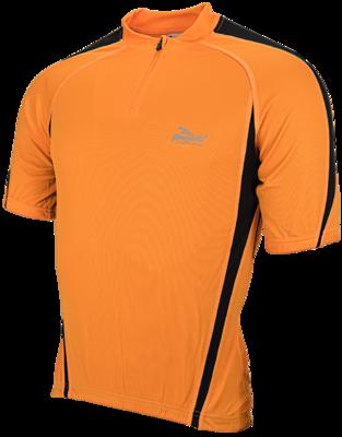 Paris Shirt  Korte Mouw Oranje