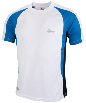 Running shirt Elba wit/blauw