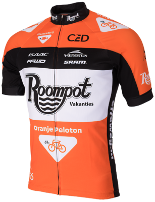 Team roompot wielershirt