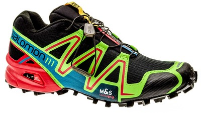 Speedcross 3 black/granny-green/bright-red