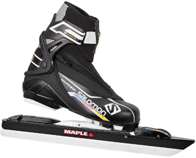 Active/Equipe 8 Skate met  Maple Chrome