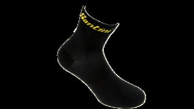 Fietssokken Zwart\Geel