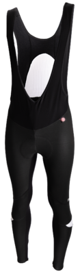 Fiets Windstopper Bibtights Zwart Wit