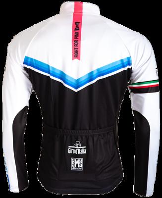 Fietsshirt Giro D'Italia Blauw-Zwart-Wit