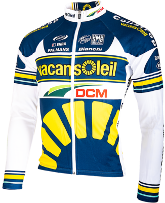 Cycle Jersey Team Vacansoleil 2013