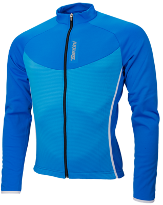 Windstopper Blauwprint Fietsjack