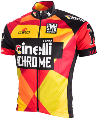 Wieler Shirt Team Cinnelli Chrome 2015