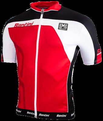 Cycleshirt Red Short Sleeves