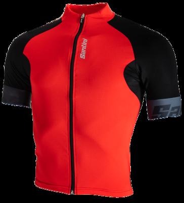 Cycleshirt Short Sleeve Cool Zero Eco-Friendly Red
