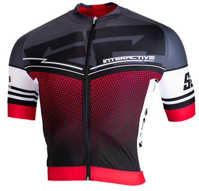 Aerodynamic Cycling Jersey Interactive