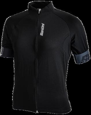 Cycleshirt Short Sleeve Black Eco-Friendly