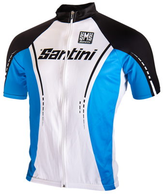 Cycle Shirt Blue And White