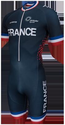 inline skinsuit Team France