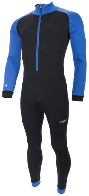 Marathon Combinaison Thermo Kuopio Enfant noir/bleu