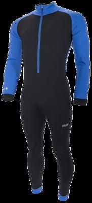 Marathon Suit Kuopio Kids black/blue