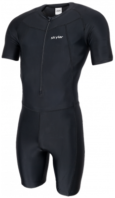 Skeelerpak speed lycra zwart