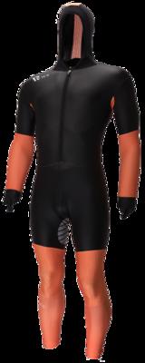 Rubber Speedpak Zwart/Oranje