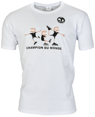 Champion du Monde T-shirt White