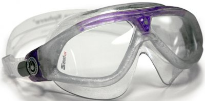 Seal XP Lady Sparkle Silver Purple Clear Lens