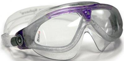Seal XP Lady Sparkle Silver Purple Clear Lens