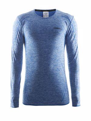 Active Comfort Roundneck Lange mouw swedisch blue