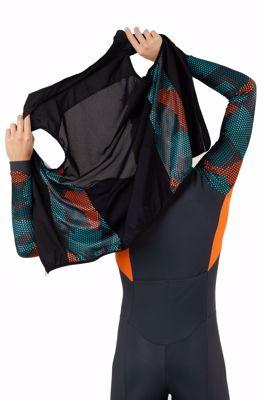 AGU Bodywarmer Hexa Camo Green/Orange/Iron Grey