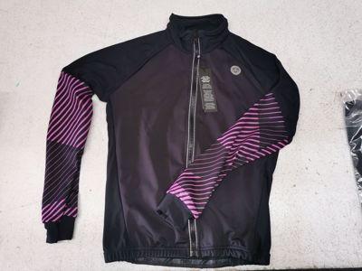 Thermo schaatsjack black/pink