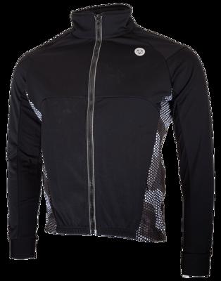 Windtex jacket Hexa Camo Black/Iron Grey