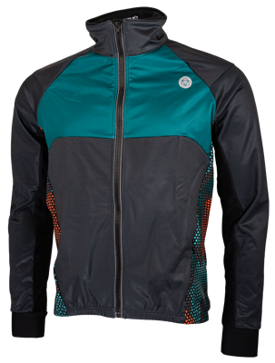 Windtex jacket Hexa Camo Green/Orange/Iron Grey