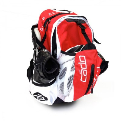 Backpack airflow red