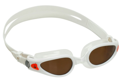 Kaiman EXO Compact fit Brown polorized lens White/Orange