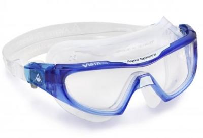 Vista PRO Clear lens Trans blue/White