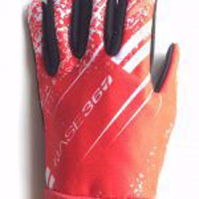Junior snijvaste handschoenen. rood