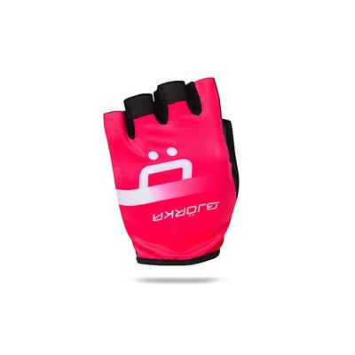 Bike glove Isoard Pink Fluo/Black
