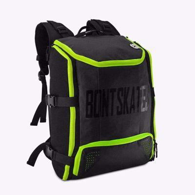 Skate Backpack Black/Fluor Green