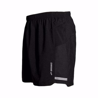 """Men's Sherpa 2-in-1 5"""" short [black]"""