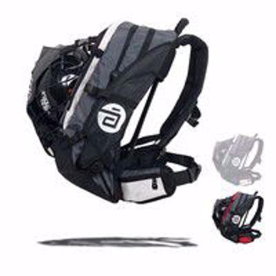 Airflow XL bag grey-white 40L