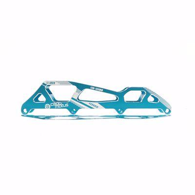 Argon Platine 4x90mm bleu