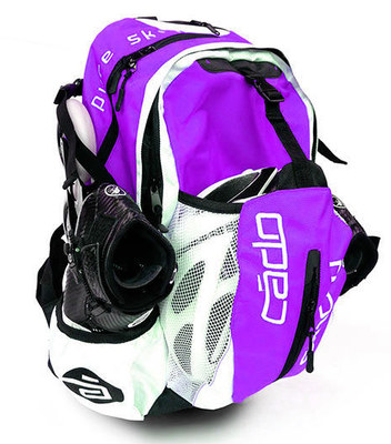 Backpack airflow Purple