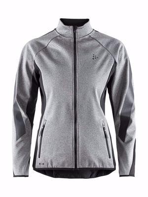 Sharp Softshell Jacket Men DK Grey Melange/Black