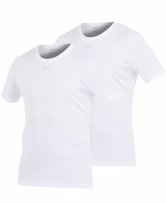 Stay cool heren shirt wit 2-pack