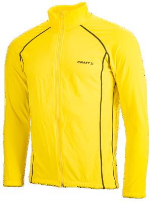 Thermo bike- skatejacket yellow