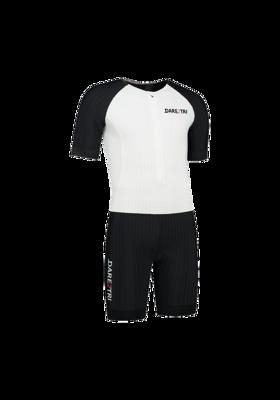 Mens Aero Tri-Suit White/Black
