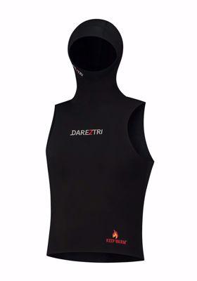 Unisex Keep Warm hooded vest